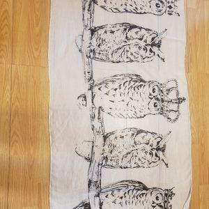 *FREE* Owl Scarf